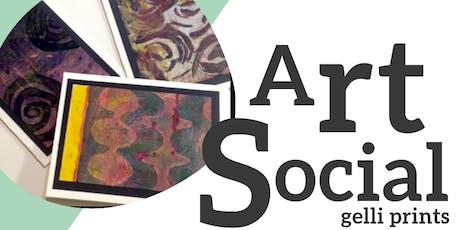 Art Social - August tickets