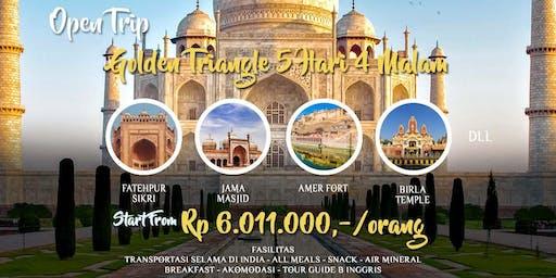 Open Trip India Golden Triangle 5 Hari 4 Malam