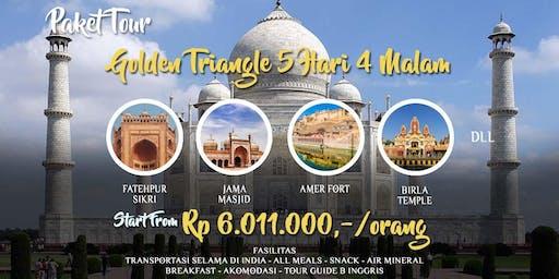 Paket Tour India Golden Triangle 5 Hari 4 Malam