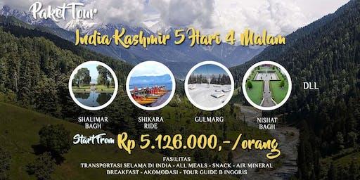 Paket Tour India Kashmir 5 Hari 4 Malam