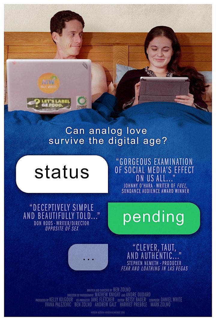 Status Pending - NZ Premiere Screening (presented by WLG-X) image
