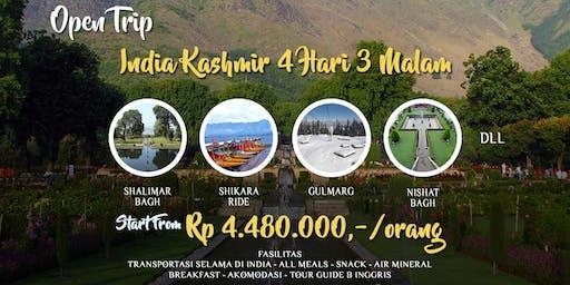 Open Trip India Kashmir 4 hari 3 Malam