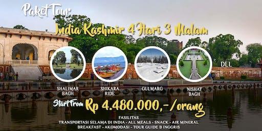Paket Tour India Kashmir 4 hari 3 Malam