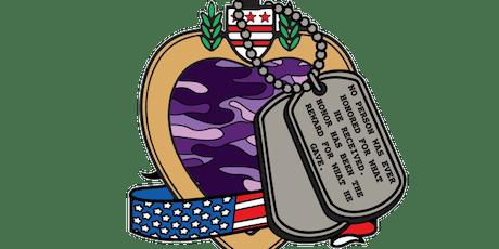 2019 Purple Heart Day 1 Mile, 5K, 10K, 13.1, 26.2 -Charlotte tickets