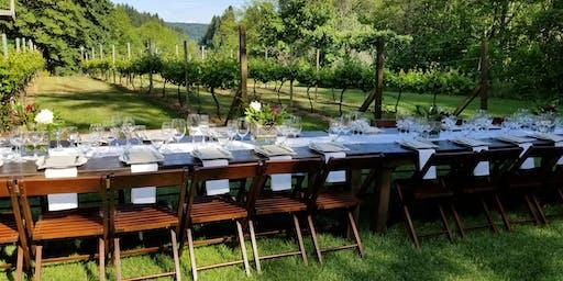 Dinner in the Vineyard - Saturday, August 31, 2019