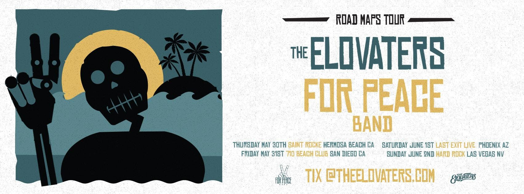 The Elovaters + For Peace Band