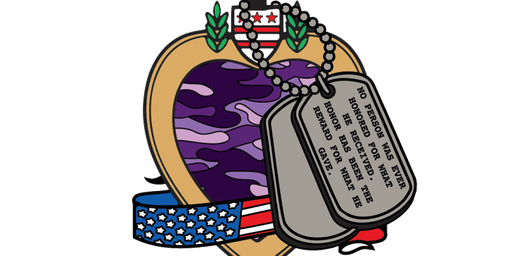 2019 Purple Heart Day 1 Mile, 5K, 10K, 13.1, 26.2 -Chattanooga