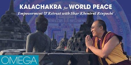 Kalachakra for World Peace: Empowerment & Retreat tickets
