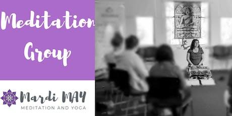 Meditation Group Wednesdays 12-12.45pm @ Woodcroft tickets