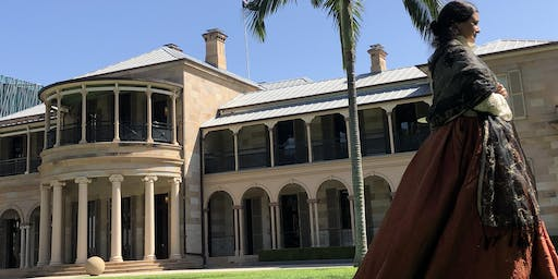Lady Diamantina Bowen Tours at Old Government House