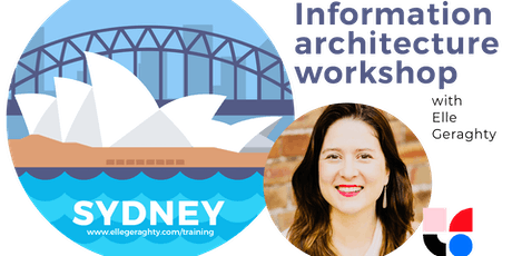 Information architecture in practice - Sydney - Nov 2019 - Training workshop tickets