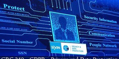 Treinamento+Prova EXIN - Privacy and Data Protection Foundation (GRC 240)