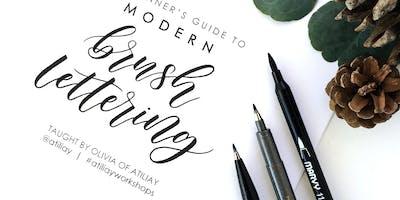 Beginners Brush Lettering Workshop - San Gabriel / Los Angeles