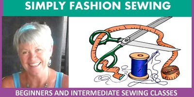 SIMPLY FASHION SEWING - Intermediate Sewing Classes Wed Evenings