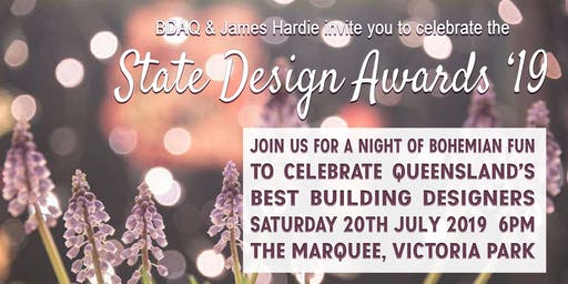 BDAQ + James Hardie State Design Awards 2019