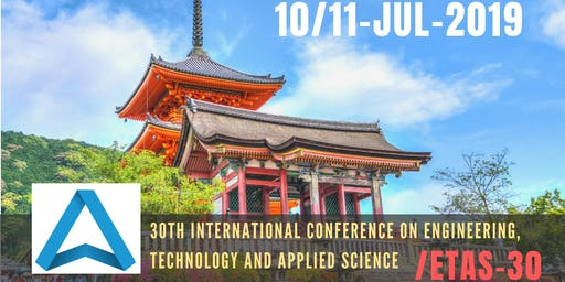 30th International Conference on Engineering, Technology and Applied Science (ETAS-30)