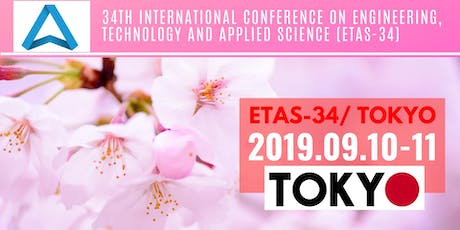 34th International Conference on Engineering, Technology and Applied Science (ETAS-34) tickets