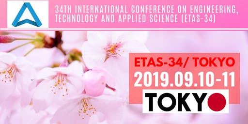 34th International Conference on Engineering, Technology and Applied Science (ETAS-34)