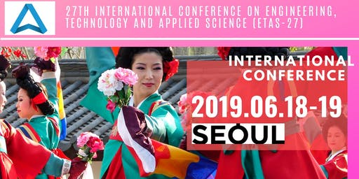 27th International Conference on Engineering, Technology and Applied Science (ETAS-27)