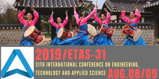 31th International Conference on Engineering, Technology and Applied Science (ETAS-31)