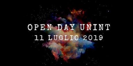 Open Day - 11 luglio 2019 biglietti
