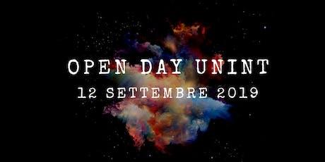 Open Day - 12 settembre 2019 biglietti