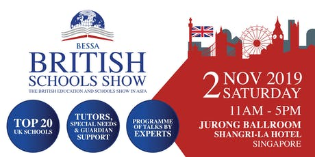 BESSA Singapore 2019 - The British Education and Schools Show in Asia tickets