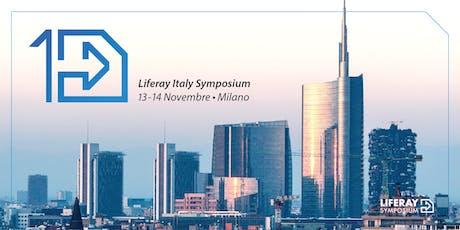 Liferay Italy Symposium biglietti