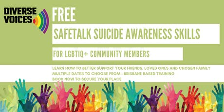 SafeTALK Suicide Awareness Training tickets