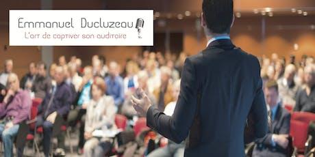 Conférence: L'art oratoire, compétence indispensable en entreprise? billets