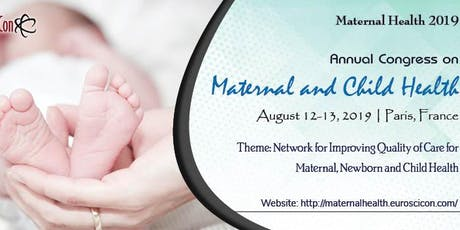 Maternal and Child Health 2019 billets