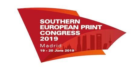 Southern European Print Congress 2019 entradas