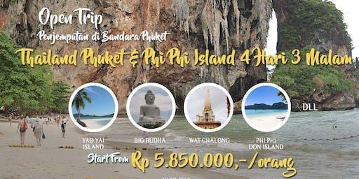 Open Trip Thailand Phuket - Phi Phi Island 4 Hari 3 Malam