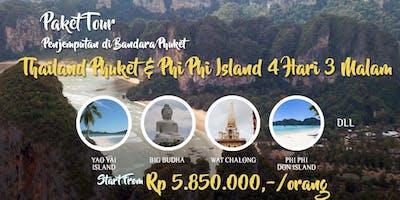 Paket Tour Thailand Phuket - Phi Phi Island 4 Hari 3 Malam