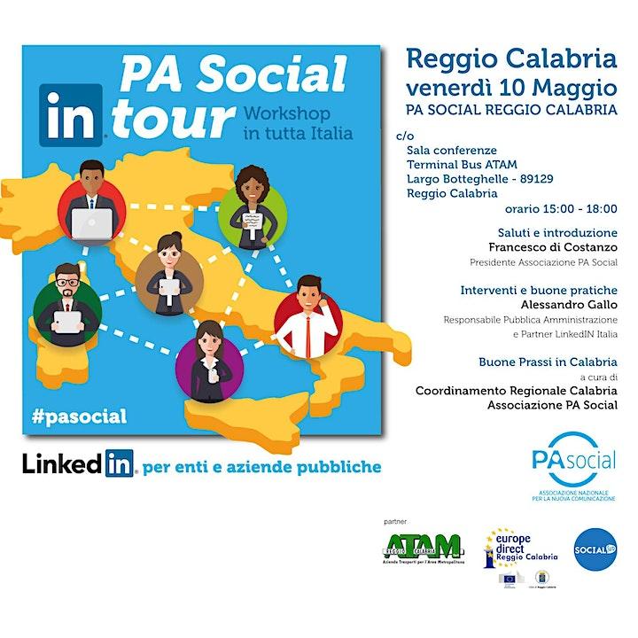 Immagine PA Social tour: Linkedin per enti e aziende pubbliche
