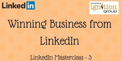 Winning Business from LinkedIn - how to make real use of all the tools LinkedIn has to offer