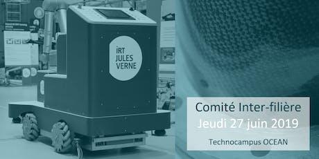 IRT Jules Verne | Comité inter-filière  billets