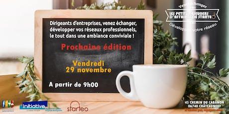 Les Petits Déjeuners d'Affaires de Starteo! tickets