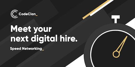 Edinburgh: Speed Networking - Meet your next digital hire! tickets
