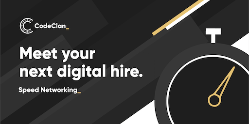Edinburgh: Speed Networking - Meet your next digital hire!