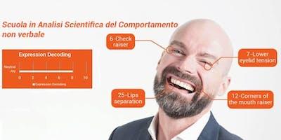 Corso di Analisi Scientifica delle Espressioni Facciali 11-12 maggio Catania