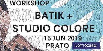 Workshop di batik e studio del colore