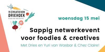 Sappig netwerkevent voor foodies & creatives