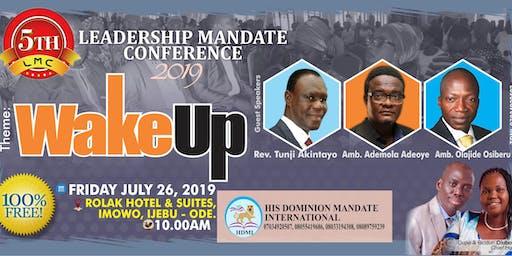 LEADERSHIP MANDATE CONFERENCE 2019