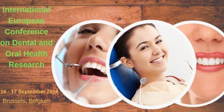 International European Conference on Dental and Oral Health Research tickets