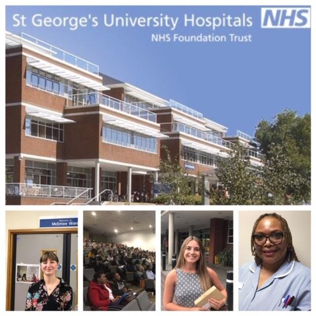 Join St George's nursing team - one of the NHS's most famous hospitals!