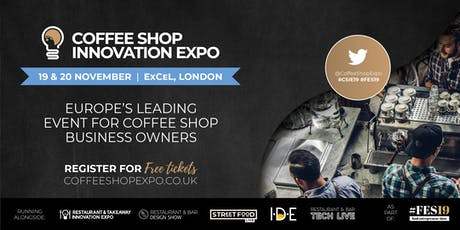The Coffee Shop Innovation Expo tickets