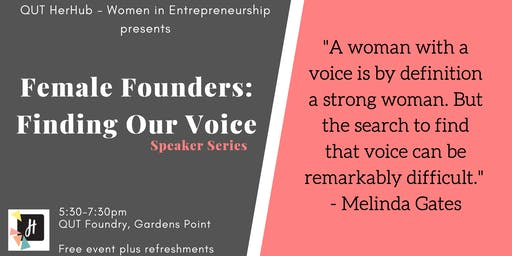 Female Founders: Finding Our Voice