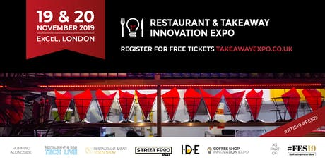 The Restaurant & Takeaway Innovation Expo tickets