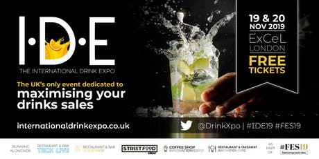 The International Drink Expo tickets